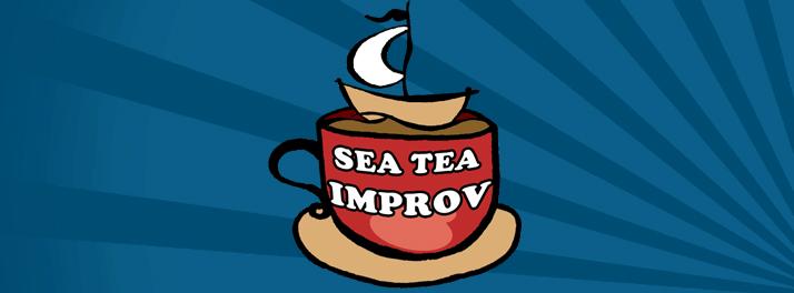 Sea Tea Improv Banner