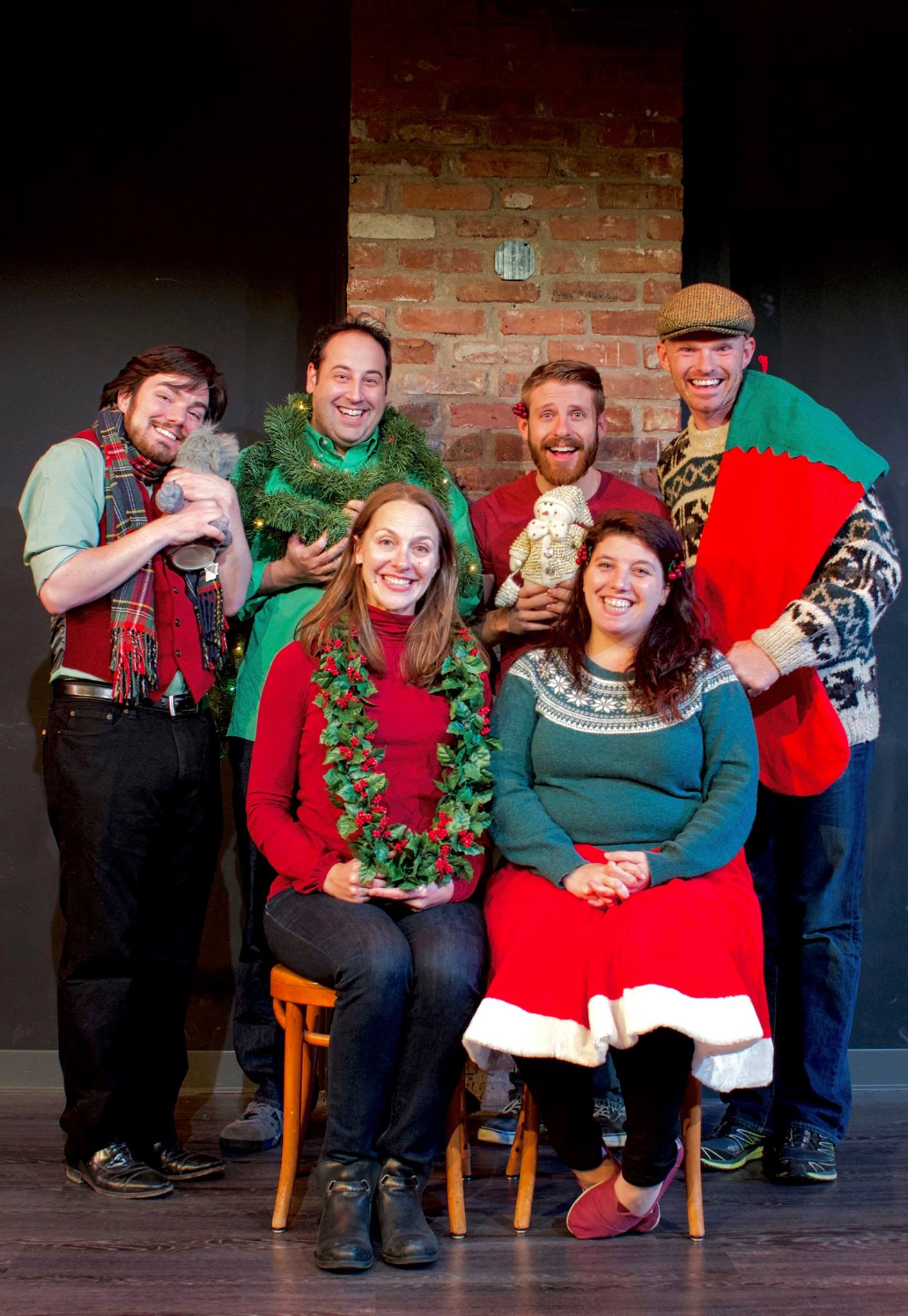 An Improvised Christmas Carol - December 8-18